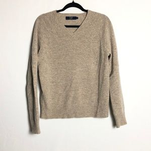 J. Crew men's lambswool vneck sweater
